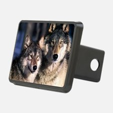 two wolf Hitch Cover