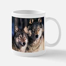 two wolf Mug