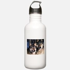 two wolf Sports Water Bottle