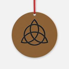 Triquetra Ornament (Round)