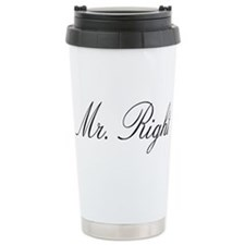 Cute Mr right Travel Mug