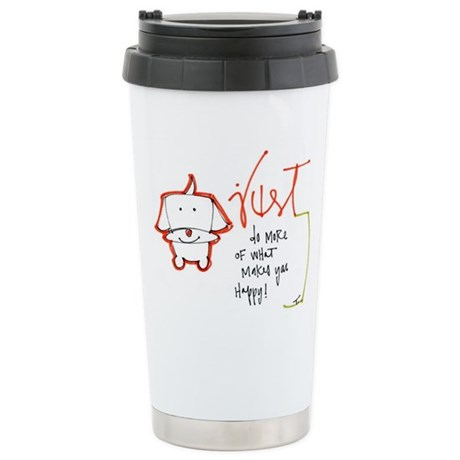 Advice from a Dog Stainless Steel Travel Mug