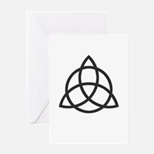 Triquetra Greeting Card