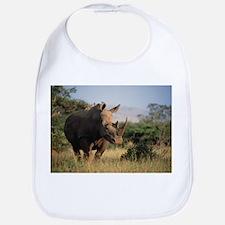 White rhinoceros - Bib