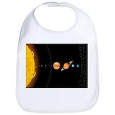 Solar system planets, artwork - Bib