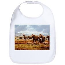 Woolly mammoths - Bib