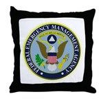 F.E.M.A. Throw Pillow