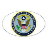 F.E.M.A. Sticker (Oval 10 pk)