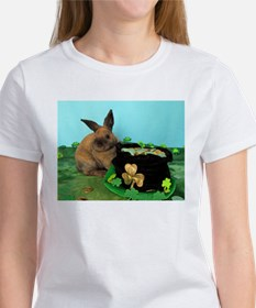 Buddy the Lucky Bunny Women's T-Shirt