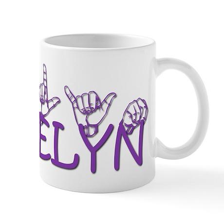 Adelyn in ASL Mug