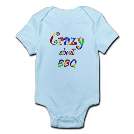 Crazy About BBQ Infant Bodysuit