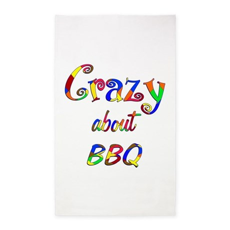 Crazy About BBQ 3'x5' Area Rug