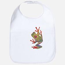 """""""Red-eyed tree Frog"""""""" Bib"""