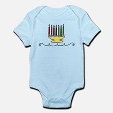Kwanzaa Candles Infant Bodysuit