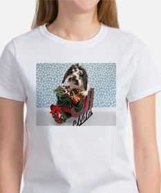 Dudley in Winter Sleigh Women's T-Shirt
