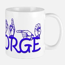George in ASL Mug
