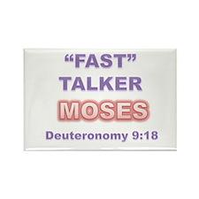 """FAST"" TALKER Series MOSES Deuteronomy 9:18 Rectan"