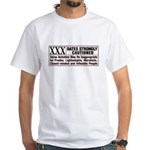 Rated XXX No-Ad White T-Shirt
