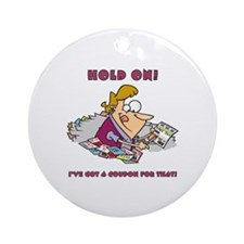 HOLD ON! Ornament (Round)