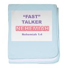 """FAST"" TALKER Series: NEHEMIAH Nehemiah 1:4 baby b"
