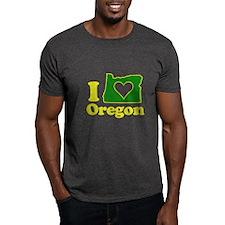 I Heart (Love) Oregon T-Shirt