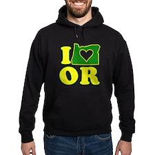 I Heart (Love) Oregon Hoodie