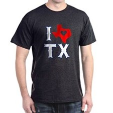 I Heart (Love) Texas T-Shirt