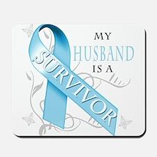My Husband is a Survivor.png Mousepad