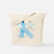 My Husband is a Survivor.png Tote Bag