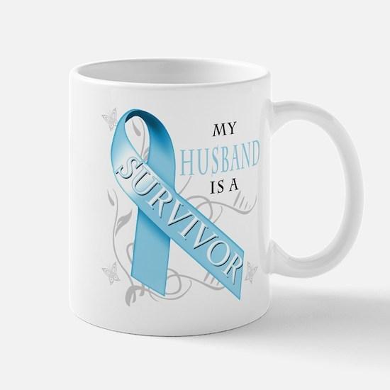 My Husband is a Survivor.png Mug