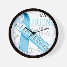 My Friend is a Survivor.png Wall Clock