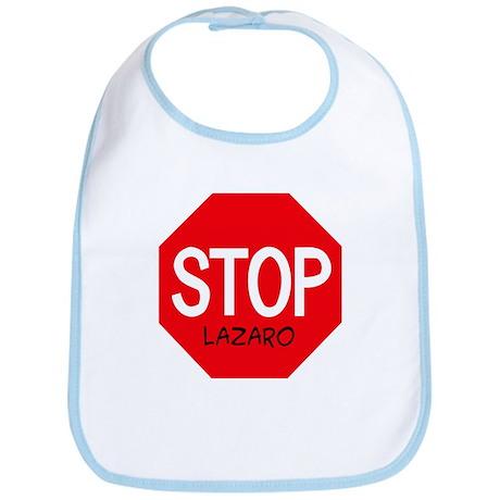 Stop Lazaro Bib