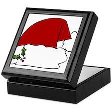 Santa Hat Keepsake Box