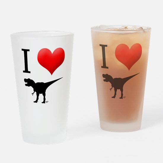 dinosaurs Drinking Glass