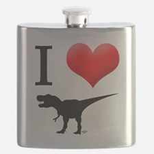dinosaurs Flask