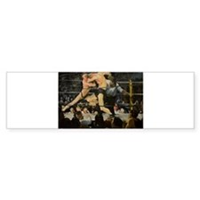 Famous Paintings: Stag at Sharkys Bumper Sticker