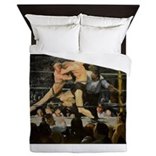 Famous Paintings: Stag at Sharkys Queen Duvet