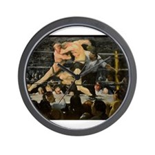 Famous Paintings: Stag at Sharkys Wall Clock