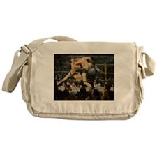 Famous Paintings: Stag at Sharkys Messenger Bag
