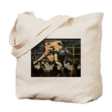 Famous Paintings: Stag at Sharkys Tote Bag