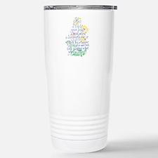 Unique Calligraphy Thermos Mug