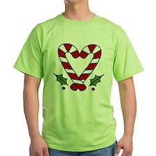 Candy Cane Heart T-Shirt