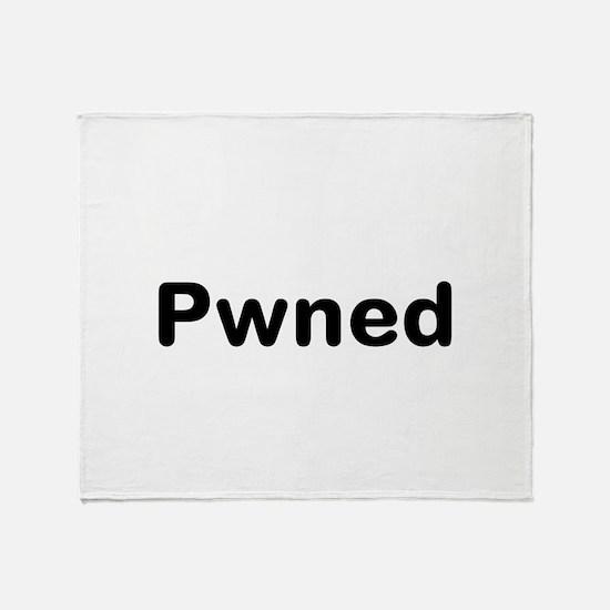 Pwned Throw Blanket