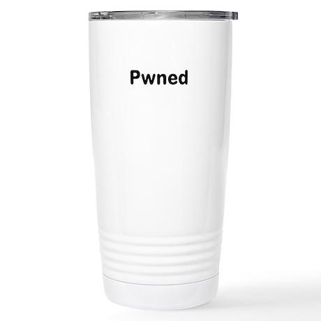 Pwned Stainless Steel Travel Mug