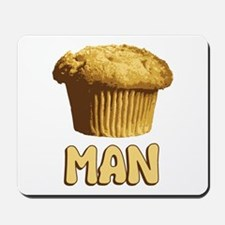 Muffin Man T-Shirt Mousepad