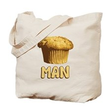 Muffin Man T-Shirt Tote Bag