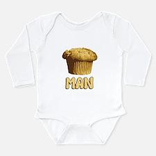 Muffin Man T-Shirt Long Sleeve Infant Bodysuit