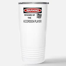 Accordion Player Travel Mug