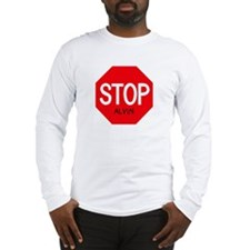 Stop Alvin Long Sleeve T-Shirt