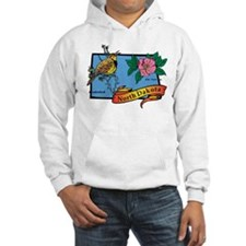 North Dakota Map Hoodie